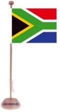 Werbeartikel: Tischfahnen Südafrika,