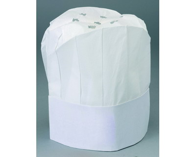 Werbeartikel: Papier-Kochmützen=Weiße Kochmützen