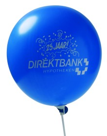 Werbeartikel: Luftballons=Ballon mit Werbeaufdruck