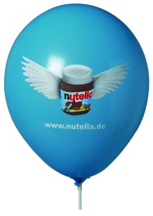 Werbeartikel: Luftballons=Luftballons mit Superprint