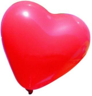 Werbeartikel: Luftballons=Herzluftballons