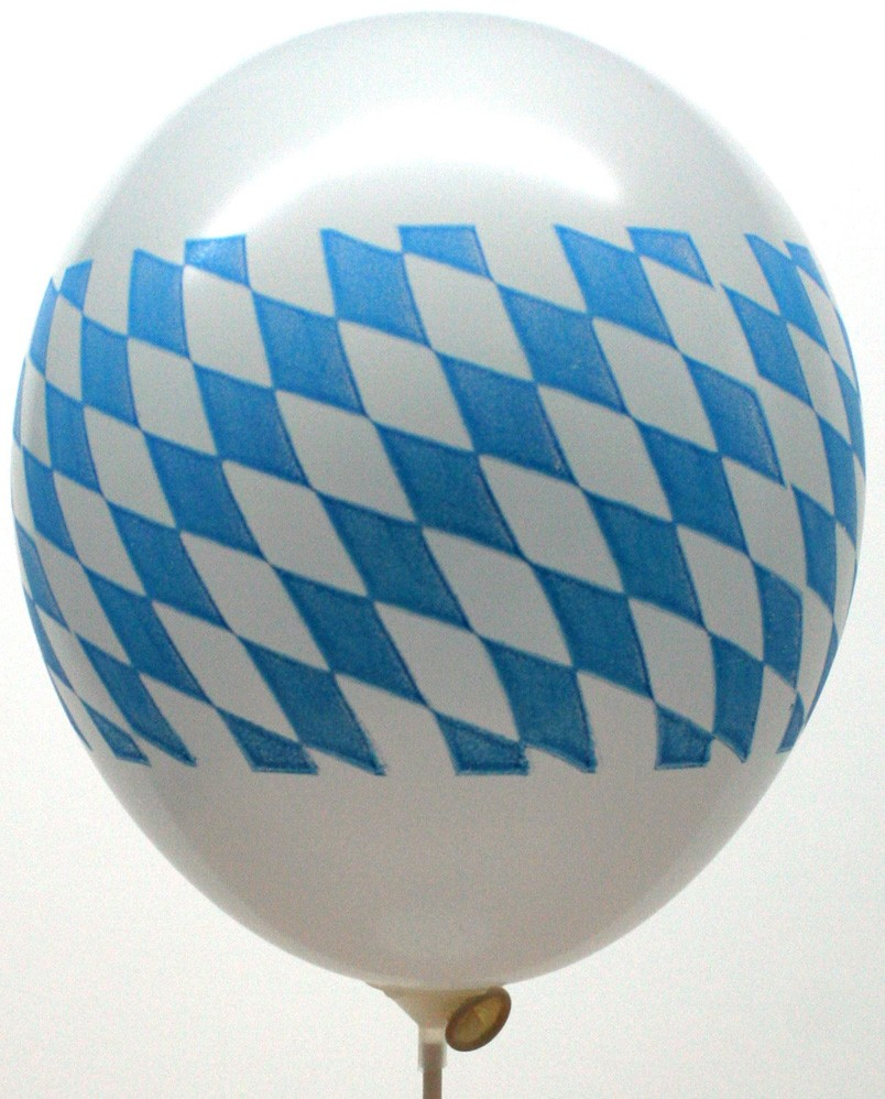 "Werbeartikel: Luftballons=Luftballons ""Bayern"" 95 cm Umfang"