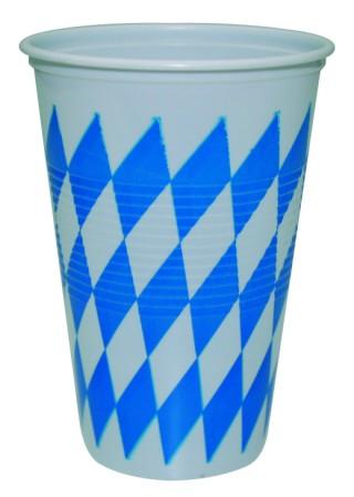 "Werbeartikel: Themendekoration Bayern ab Lager=Trinkbecher ""Bayern"""