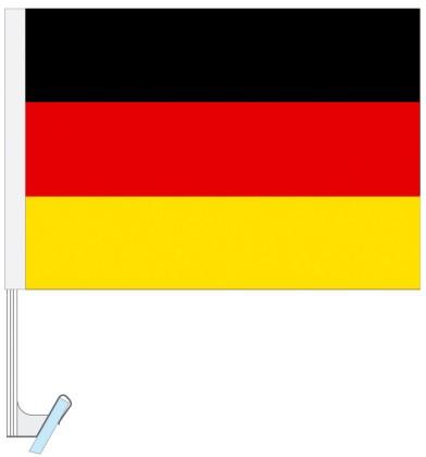 Werbeartikel: Themendekoration Deutschland=Auto - Fahnen, Autofahnen,