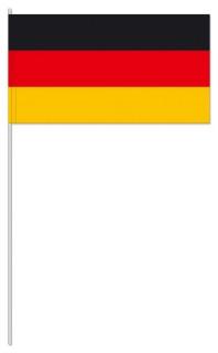 """Werbeartikel: Themendekoration Deutschland=Papierfahnen """"Deutschland"""""""
