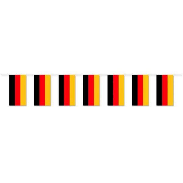 """Werbeartikel: Themendekoration Deutschland=Fahnenketten """"Deutschland"""""""
