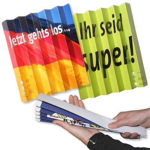 Werbeartikel: Themendekoration Deutschland=Klatschfächer Deutschland,
