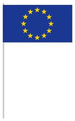 "Werbeartikel: Themendekoration Europa=Papierfahnen ""Europa"""