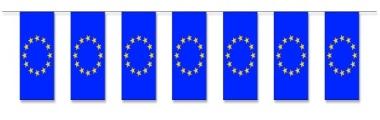 Werbeartikel: Themendekoration Europa=Fahnenketten Europa