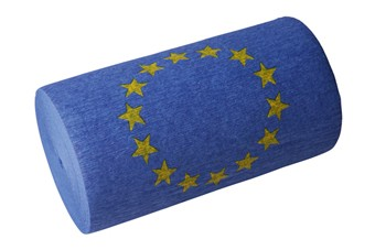 "Werbeartikel: Themendekoration Europa=Dekokrepp ""Europa"""