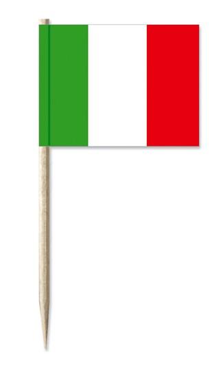 Werbeartikel: Italien Minifahnen,
