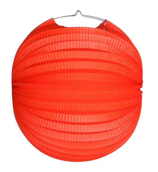 Werbeartikel: Ballonlaternen in zwei Größen ab Lager=Ballonlaternen orange 28 cm Ø