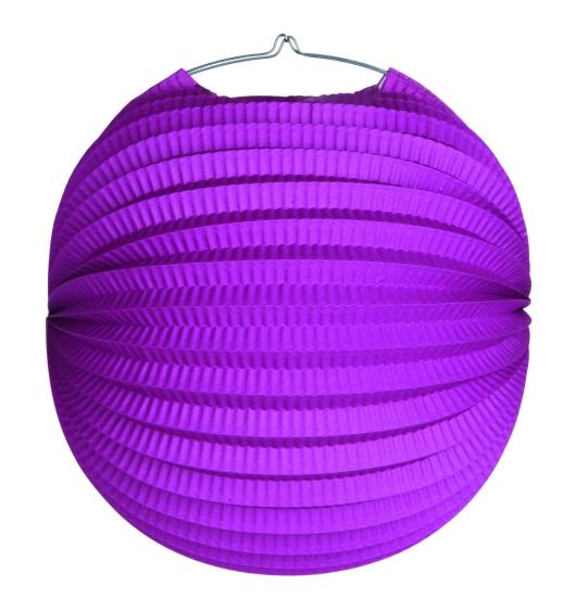 Werbeartikel: Ballonlaternen in zwei Größen ab Lager=Ballonlaternen flieder 24 cm Ø