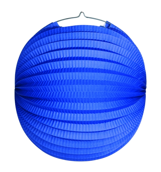 Werbeartikel: Ballonlaternen in zwei Größen ab Lager=Ballonlaternen blau 24 cm Ø