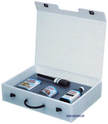 Werbeartikel: Koffer-verpackung