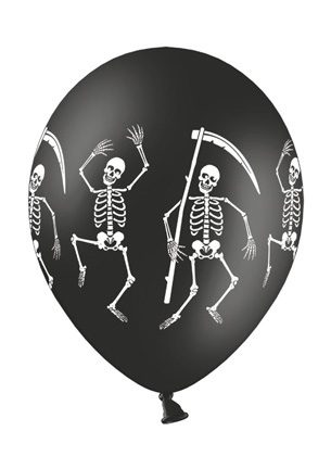 Werbeartikel: Luftballons Skelett