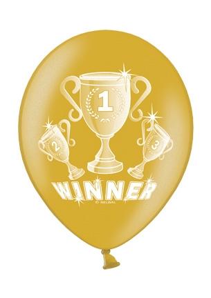 Werbeartikel: Luftballons Winner Gold
