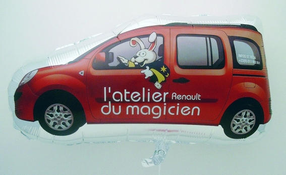 Werbeartikel: Folienballons Auto
