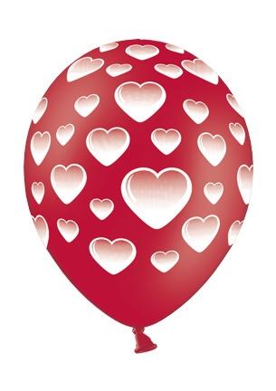 Werbeartikel: Luftballons Herz,
