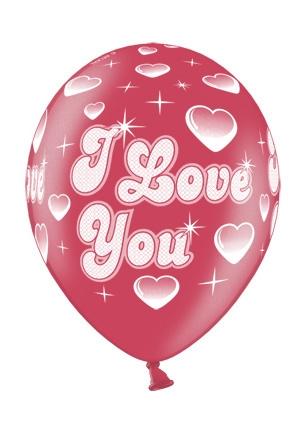 Werbeartikel: Luftballons I Love You,
