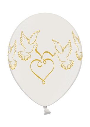 Werbeartikel: Luftballons Tauben Doves pearl,