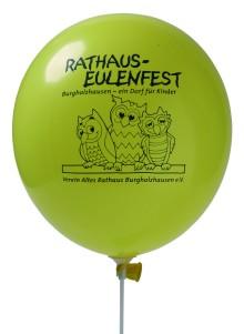 Werbeartikel: Ballons mit Werbedruck,