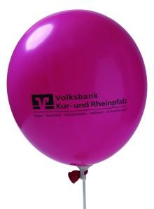 Werbeartikel: Luft-ballons mit Werbeaufdruck