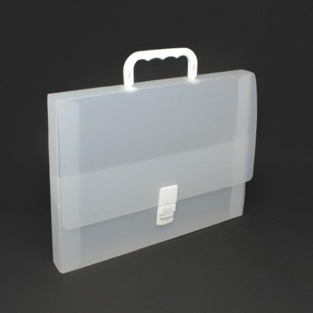 Werbeartikel: Koffer=Prospektkoffer aus Kunststoff Rücken 3,5 cm
