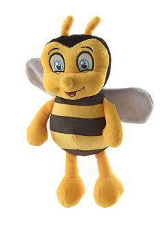 Werbeartikel: Spiel, Spass, Sicherheit=Plüschtier Biene Bella