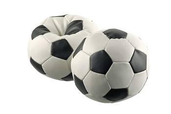 Werbeartikel: Spiel, Spass, Sicherheit=SOFTBALL FUSSBALL
