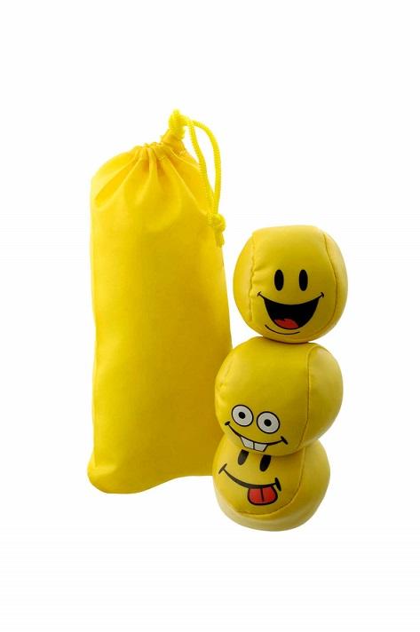 Werbeartikel: Spiel, Spass, Sicherheit=Jonglier-bälle