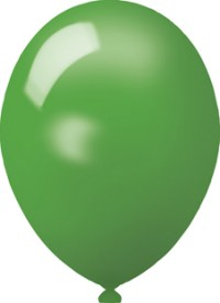 Werbeartikel: Luftballons grün 75cm