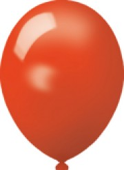 Werbeartikel: Luftballons rot 75cm
