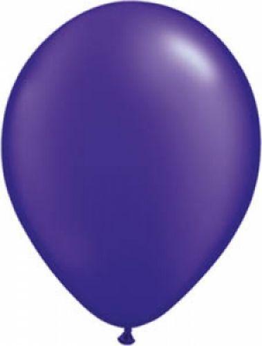 Werbeartikel: Luftballons violett 75cm