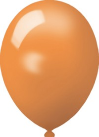 Werbeartikel: Luftballons Bunte 75cm,=Luftballons orange 75cm