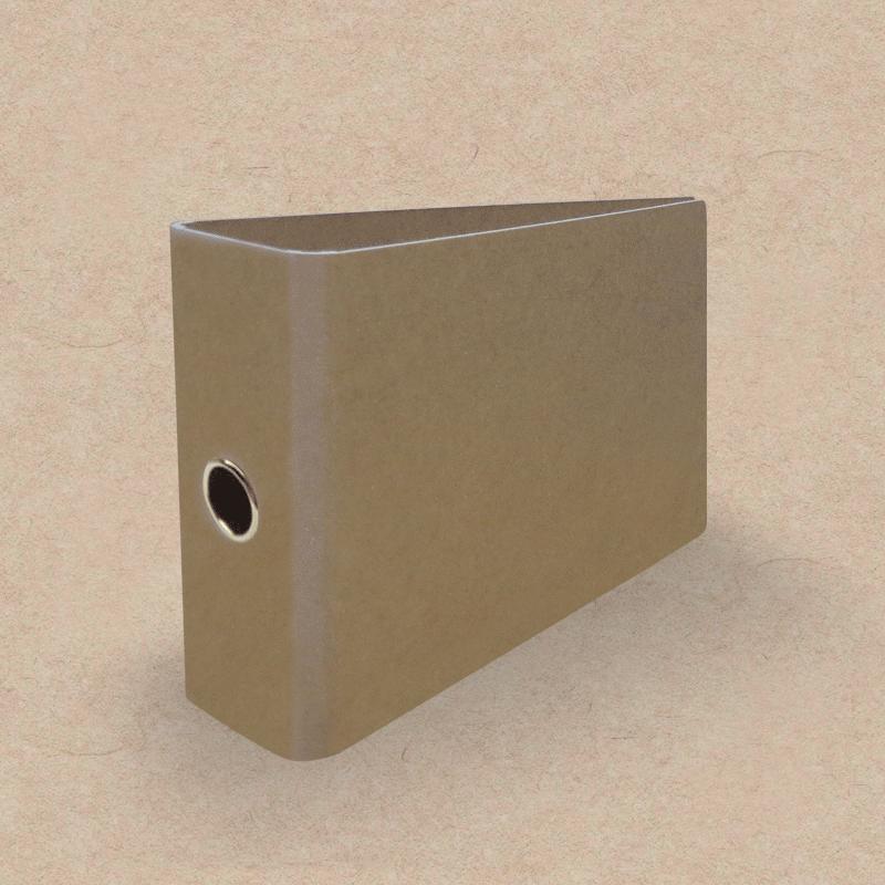 Werbeartikel: Ordner=Ordner für Kontoauszüge aus Natur-Karton