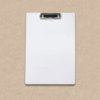 Werbeartikel: Klemmbretter=Klemmbrett in weiß