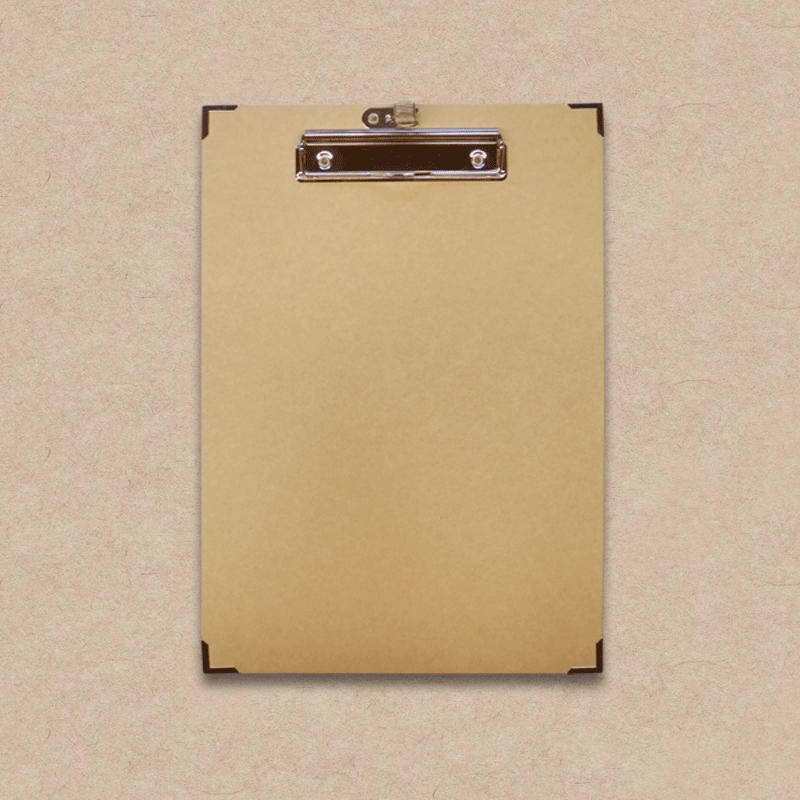 Werbeartikel: Clipboard=Clipboard aus Karton mit Metallecken