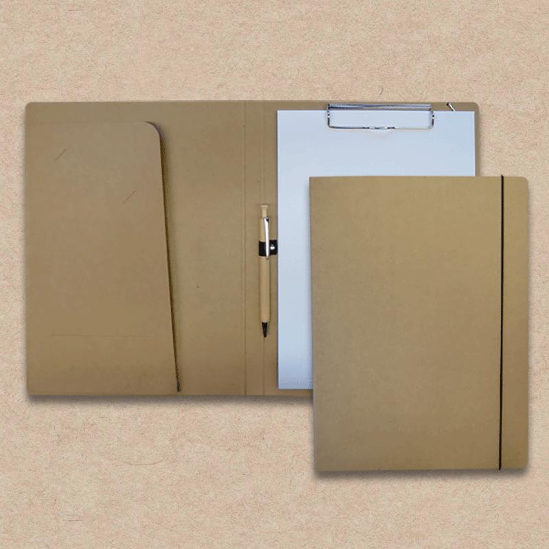 Werbeartikel: Schreibmappen/Tagungsmappen=Schreibmappe aus Natur-Karton