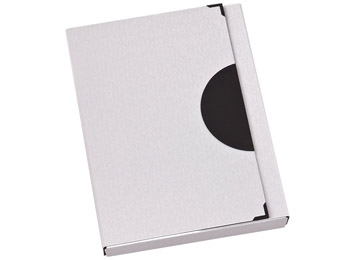 Werbeartikel: Metall Sammelmappen/Box