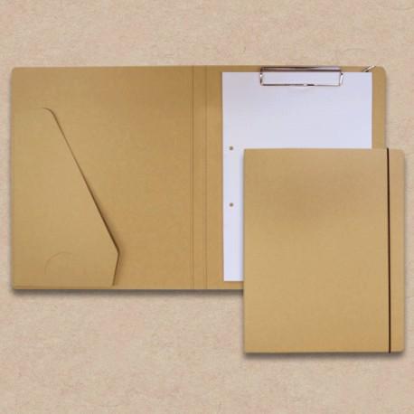 Werbeartikel: Schreib-mappen,=Schreibmappe in Karton-Optik mit Steckfach,