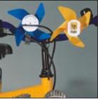 Werbeartikel: Windmühlen, Fahrrad-windmühlen,=Fahrrad-windmühlen,