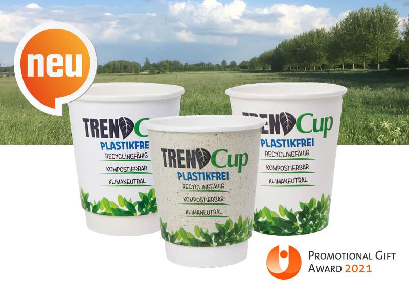 Werbeartikel: Becher, Pappbecher=Trend Cup Becher