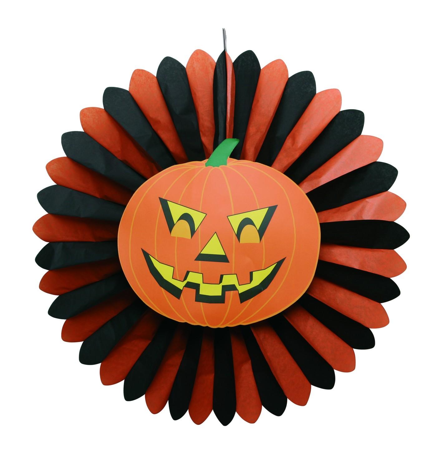 Werbeartikel: Halloween Artikel,=Halloween Dekofacher Kurbis,