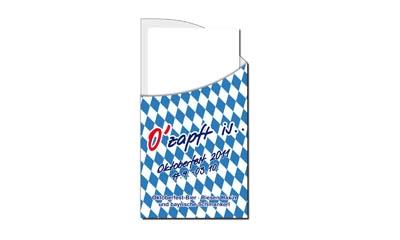 Werbeartikel: Serviettentaschen, Servietten=Bayern Servietten-taschen