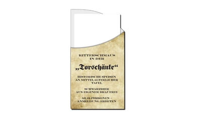 Werbeartikel: Drucken Servietten-taschen,