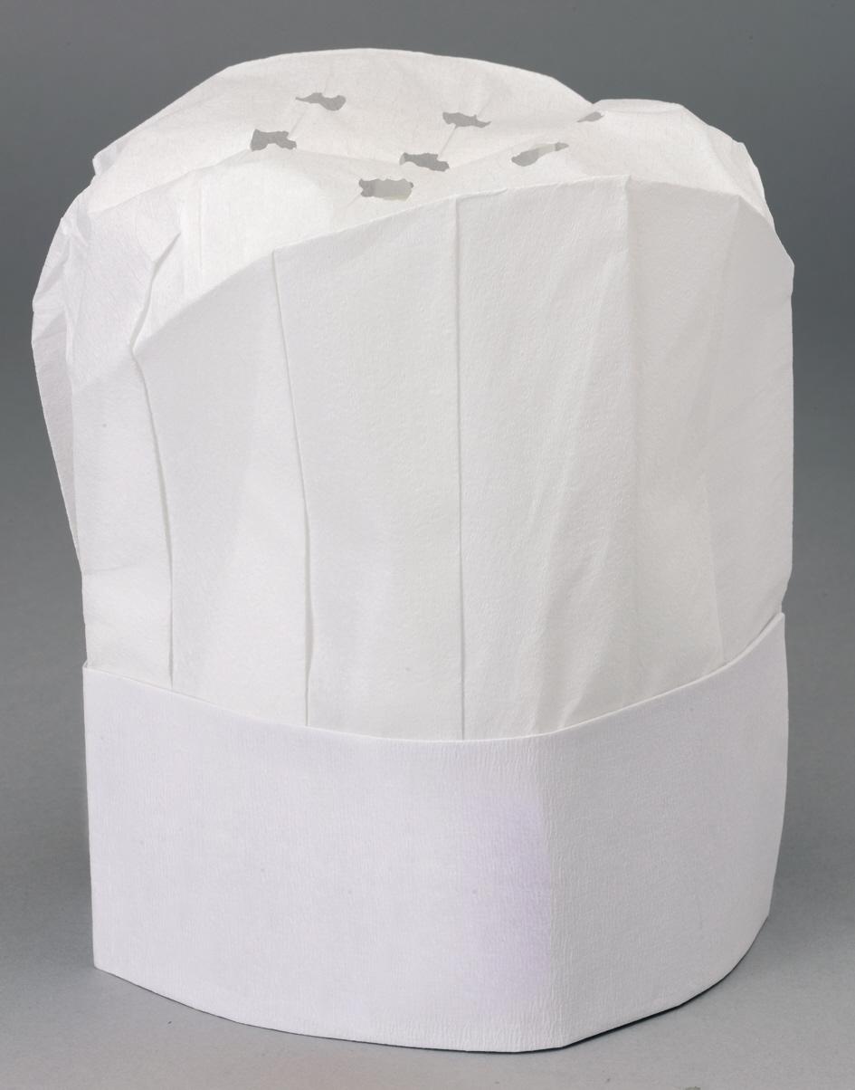 Werbeartikel: Weisse Artikel ab Lager=Weiße Kochmützen,