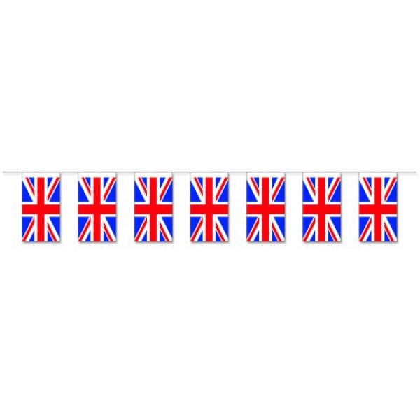 Werbeartikel: Fahnenketten Großbritannien,