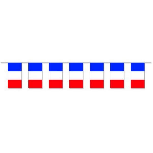 Werbeartikel: Fahnenketten Frankreich,