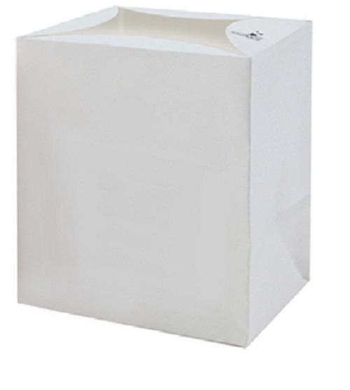 Werbeartikel: Weisse Artikel ab Lager=Weiße Popcornboxen